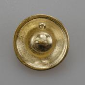Marynarski guzik wojskowy wzór 2019 złoty śr. 22 mm