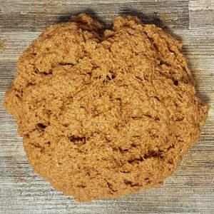 Red seitan dough