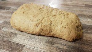 Kneeded seitan dough