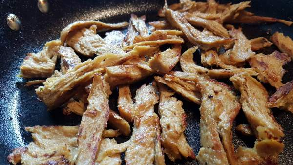 Seitan chicken