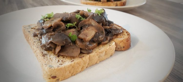 Mushrooms on Toast (1)