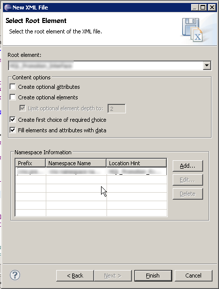 Create sample XML message from XSD in Eclipse (Free solution