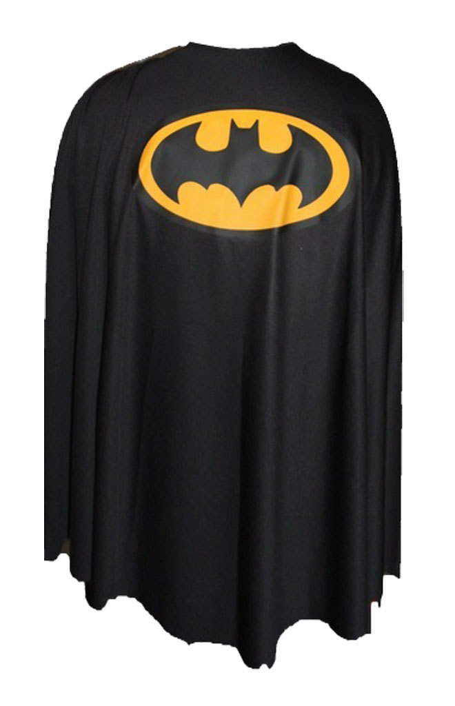 Black Batman Super Hero Cape Superhero Capes