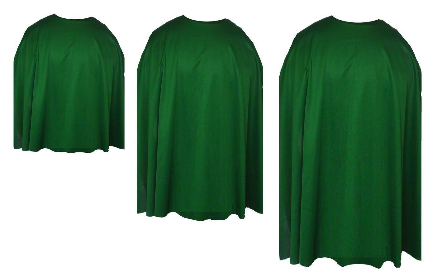 Emerald green capes