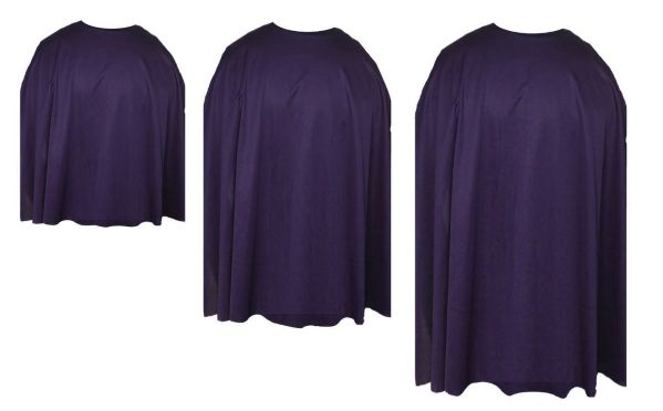 purple superhero capes