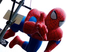 Spider-Man float at Macy*s Thanksgiving Day Parade, New York City, NY
