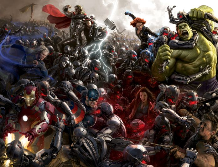 Avengers: Age of Ultron' has Marvel's biggest VFX shot count to date