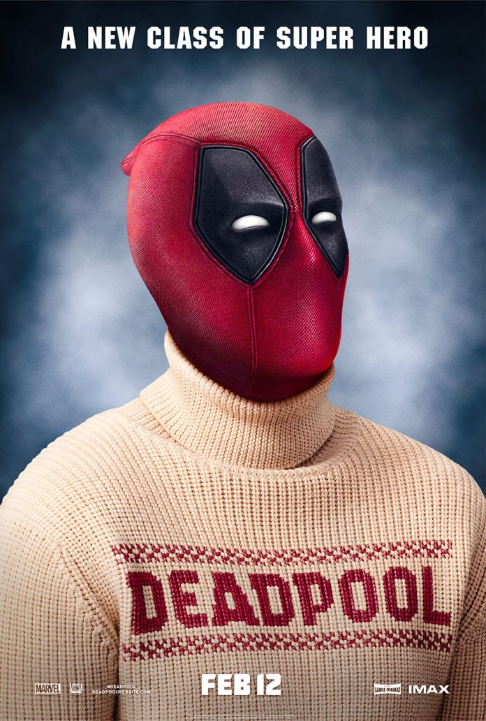 Superhero Ugly Christmas Sweaters.Deadpool S Wearing An Ugly Christmas Sweater In New Poster