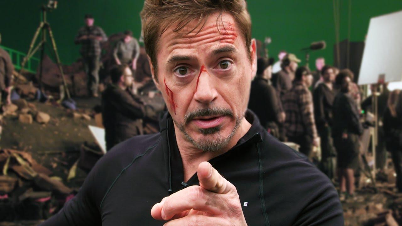 Official 'Avengers: Infinity War' set video shows a bloodied Robert Downey Dr.