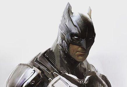 Batman V Superman Concept Art Reveals Hi Tech Batsuit That Was Scrapped For