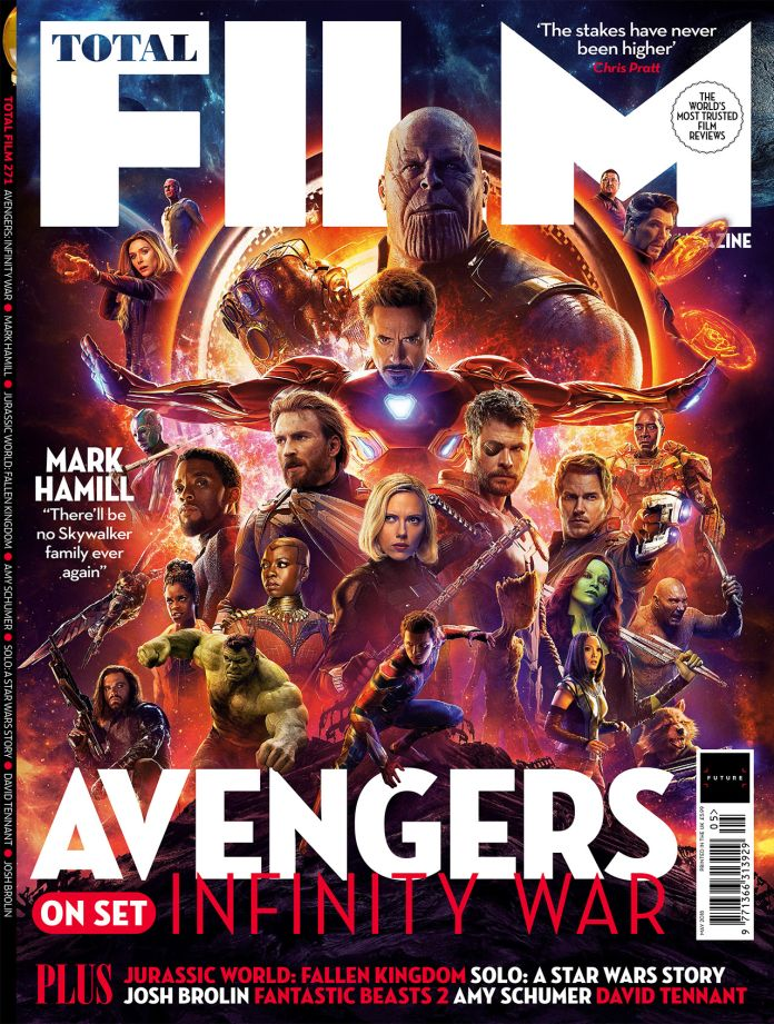 New 'Avengers: Infinity War' images released for Total Film