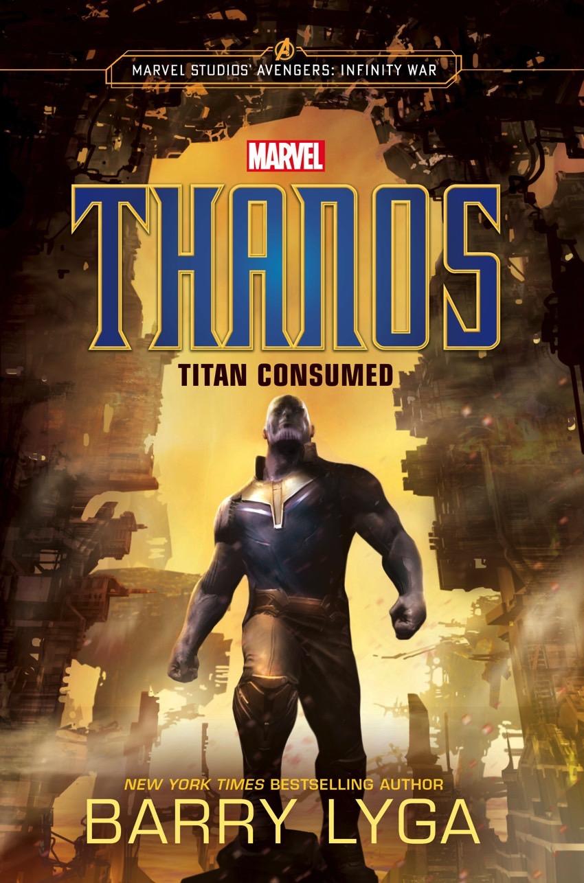 Thanos Titan Consumed Cover