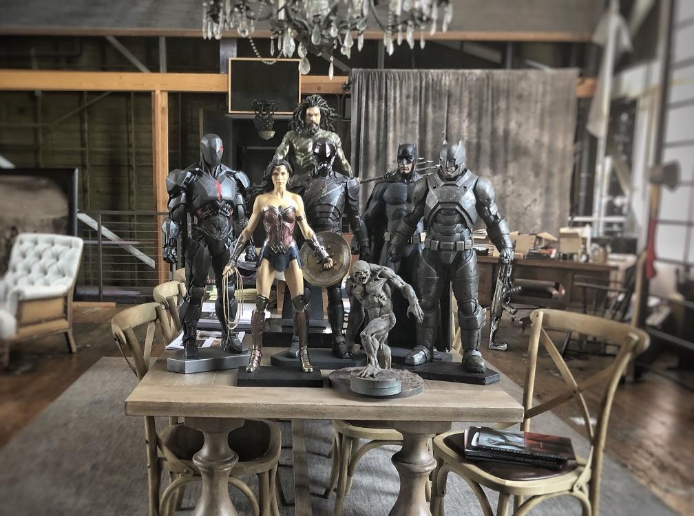 Batman v Superman unused costumes