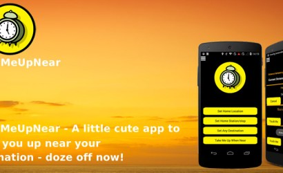 WakeMeUpNear – A little cute app to wake you up near your destination