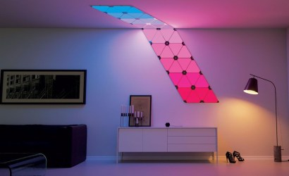 Lighting panels to let users change colour via app made