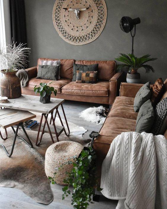 31 Inspiring Bohemian Decorating Ideas For Living Room on Bohemian Living Room Decor Ideas  id=54809