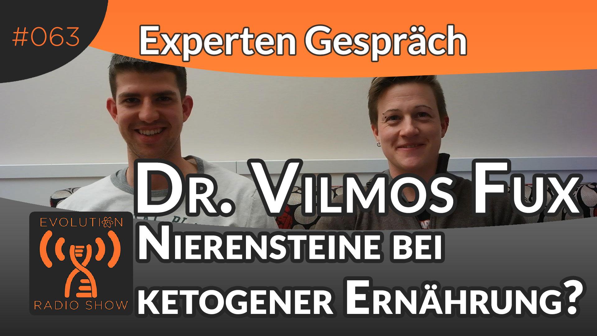 Evolution Radio Show Folge #063: Ist Low Carb schlecht für die Nieren? Experte Dr. Vilmos Fux
