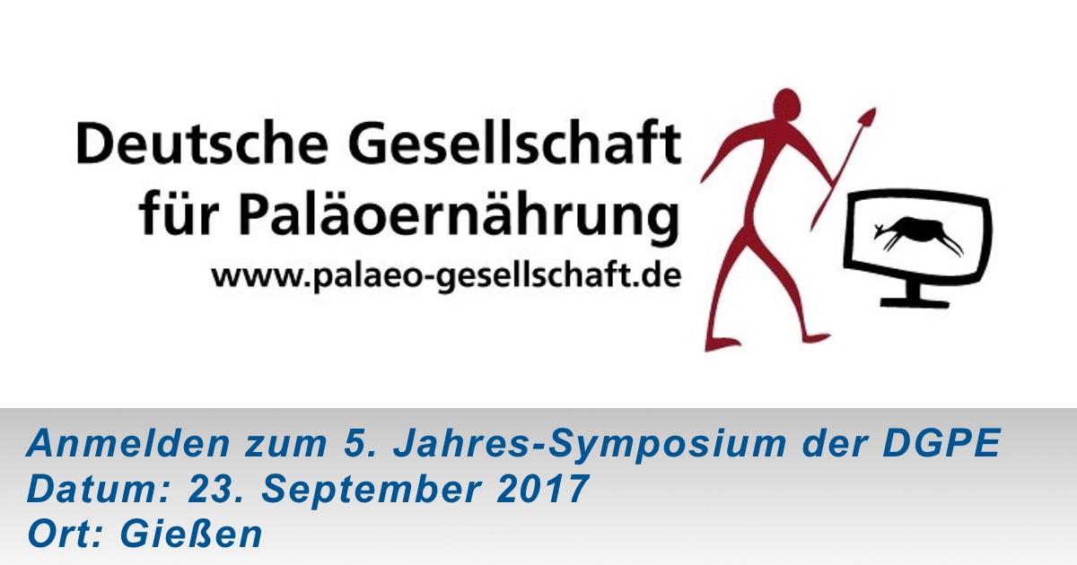 Anmelden zum 5. Jahres-Symposium der DGPE (23. September 2017 in Gießen)