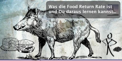 Was die Food Return Rate ist und Du daraus lernen kannst...
