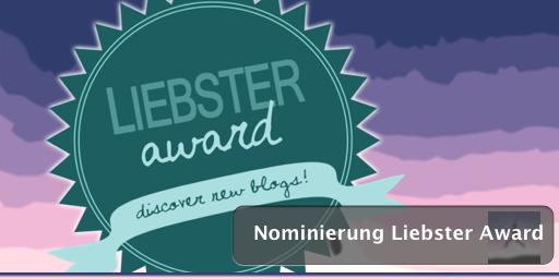 Nominierung Liebster Award