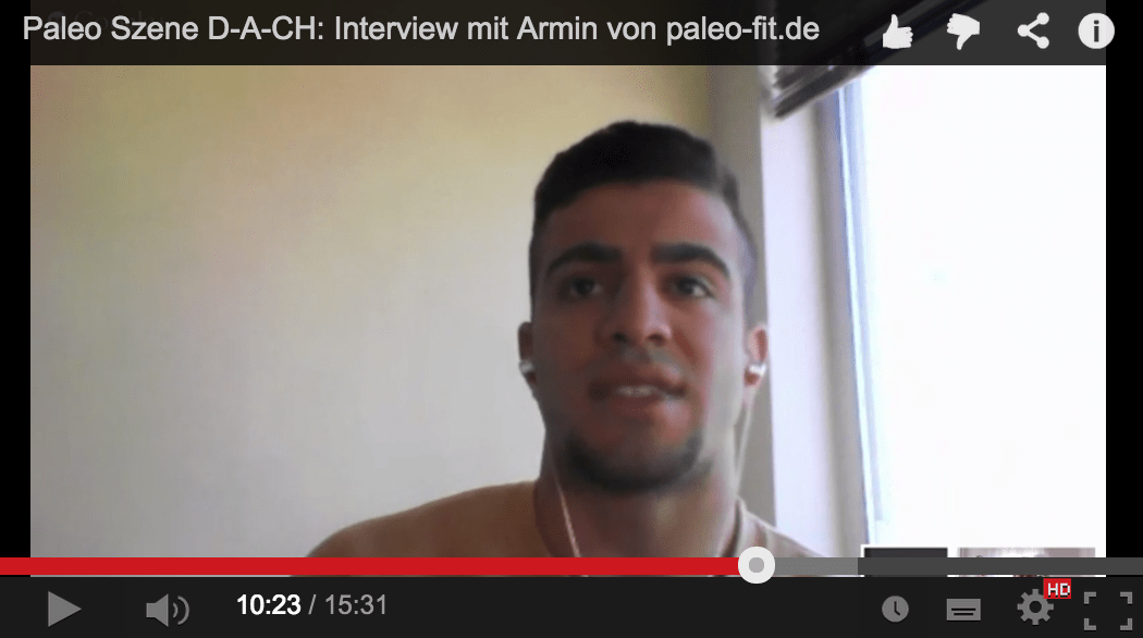 Video Interview mit Armin von paleo-fit.de