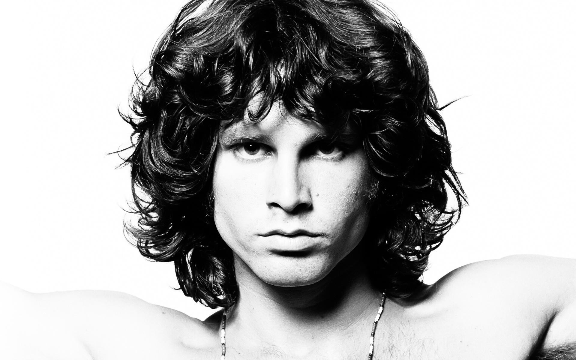 Jim Morrison alongside countless others from