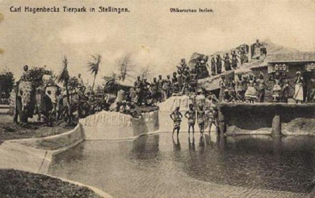 Paris'den New York'a kadar Afrika'lı yada Asya'lı ilkel kabileler insanların ilgisini çekiyor bunlar insanat bahçelerinde sergileniyorlardı.
