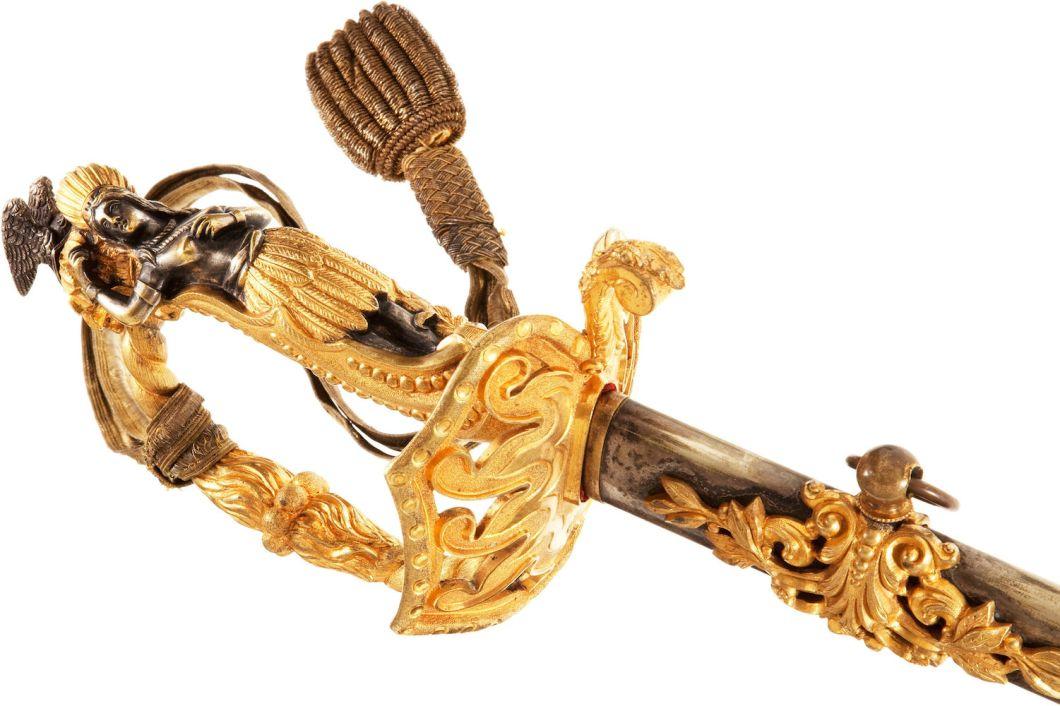Amerikan iç savaşı gösteri kılıcı