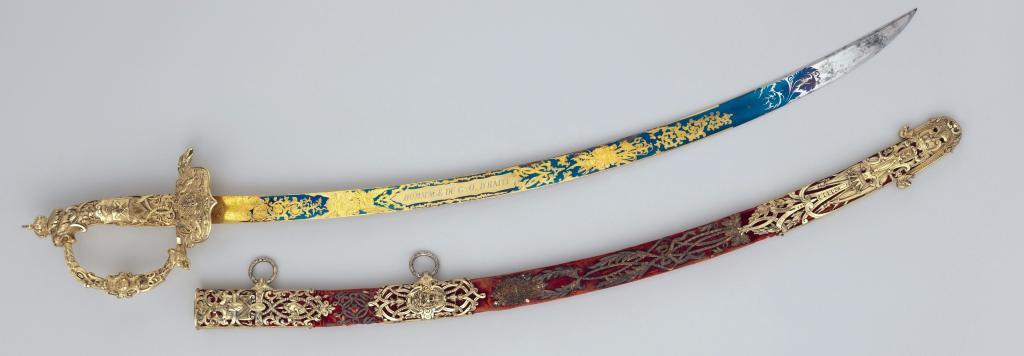 Napolyon tarafından hediye edilen haiti imparatorunun kılıcı