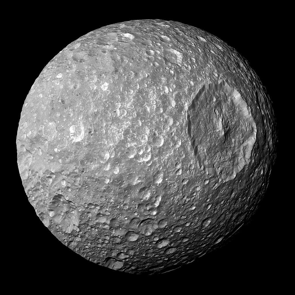 Satürnün uydusu Mimas