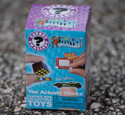 World's Smallest Toys!