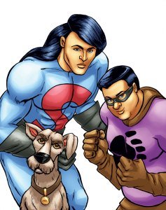 The trio of Super Indian heroes