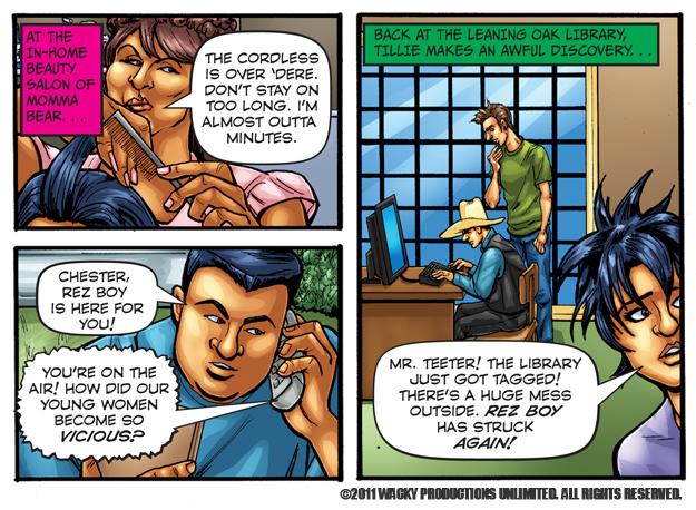 Indefinitely not Adult comic blog were