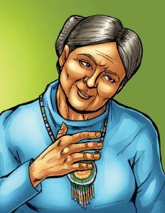 Grandma Flora Logan