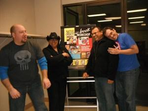 Tulsa Comic Book Workshop 2014