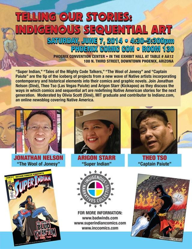 Phoenix Comic Con Flyer 2014