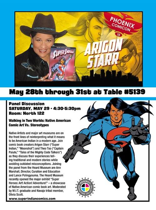 Phoenix Comic Con 2015 Flyer