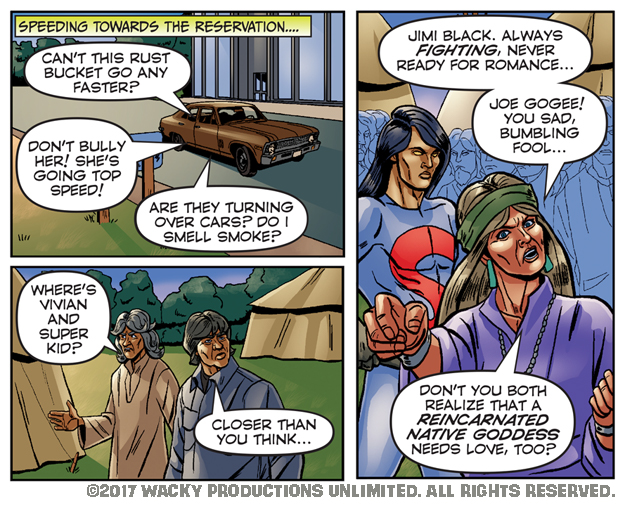 Super Indian: Old School #08-48
