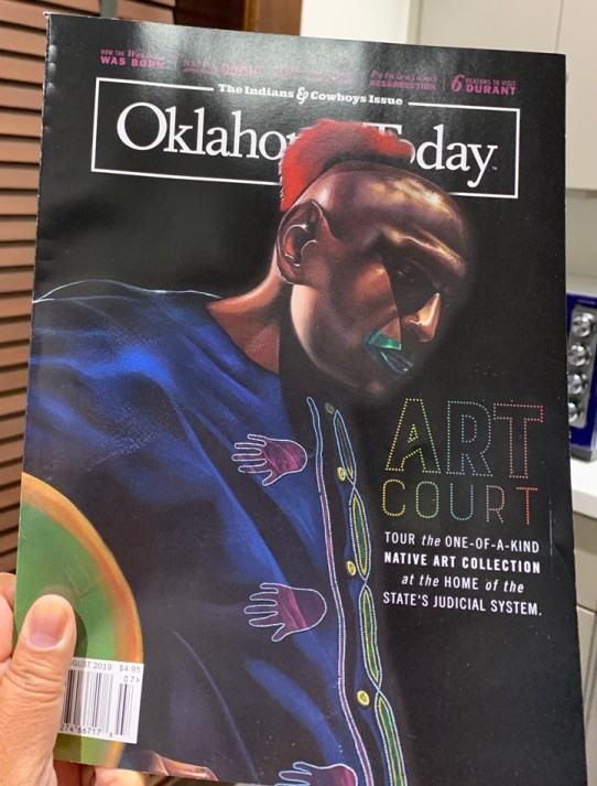 Cover of July/August issue of Oklahoma Today Magazine