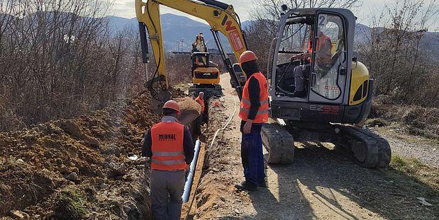 """JP """"ViK"""" d.o.o. Zenica uspješno nastavlja implementaciju projekta """"Vodosnabdijevanje i odvodnja otpadnih voda BiH II"""""""