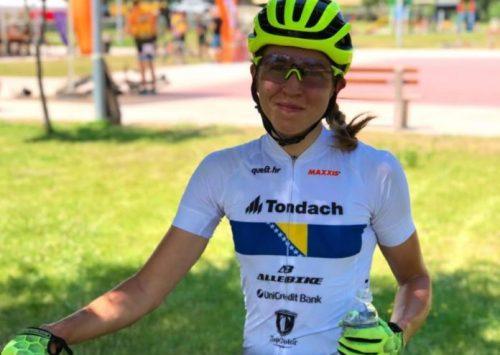 Lejla Tanović ostvarila historijski napredak na UCI listi, sada je na 7. mjestu