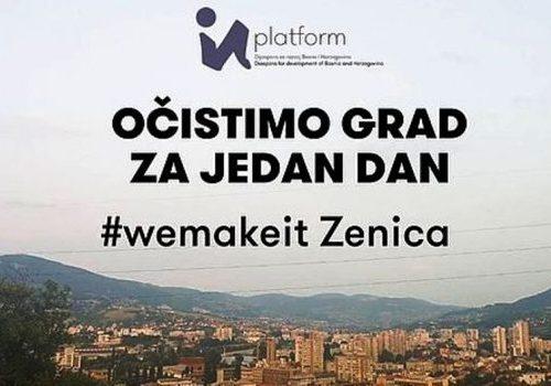 """Pokrenuta donatorska kampanja """"Očistimo grad za jedan dan"""": Za čišću Zenicu potrebno 10.000 CHF"""