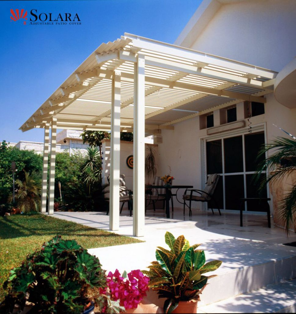 Adjustable Louver Patio Covers | Superior Awning on Patio Cover Ideas For Rain id=58942