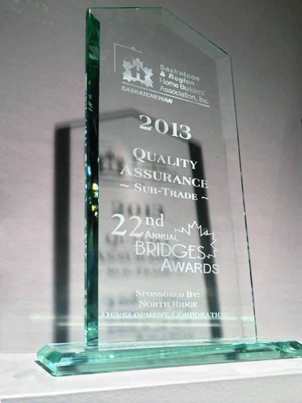Saskatoon Bridges Awards | Superior Cabinets
