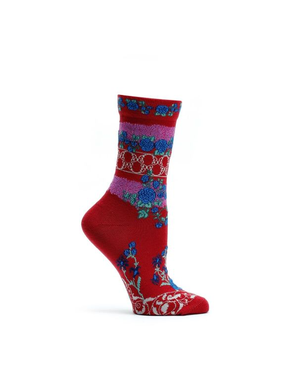 Ozone_Socks_WC1243-07_Festive Gates_Red (1)
