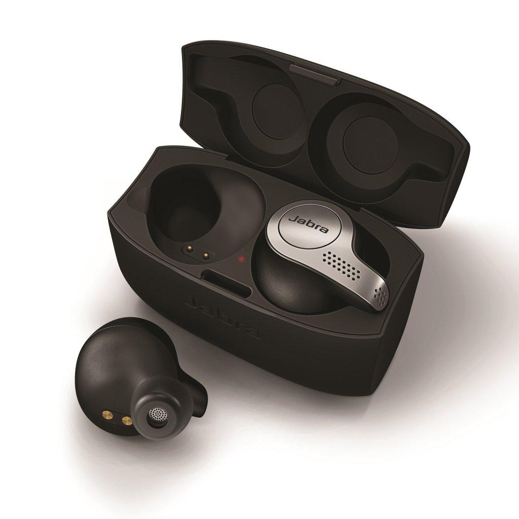 Jabra Elite 65t True Wireless Headphones Charging Carrying Case | Superior Digital News