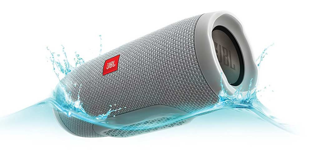 Still #1: JBL Charge 3 Portable Bluetooth Speaker