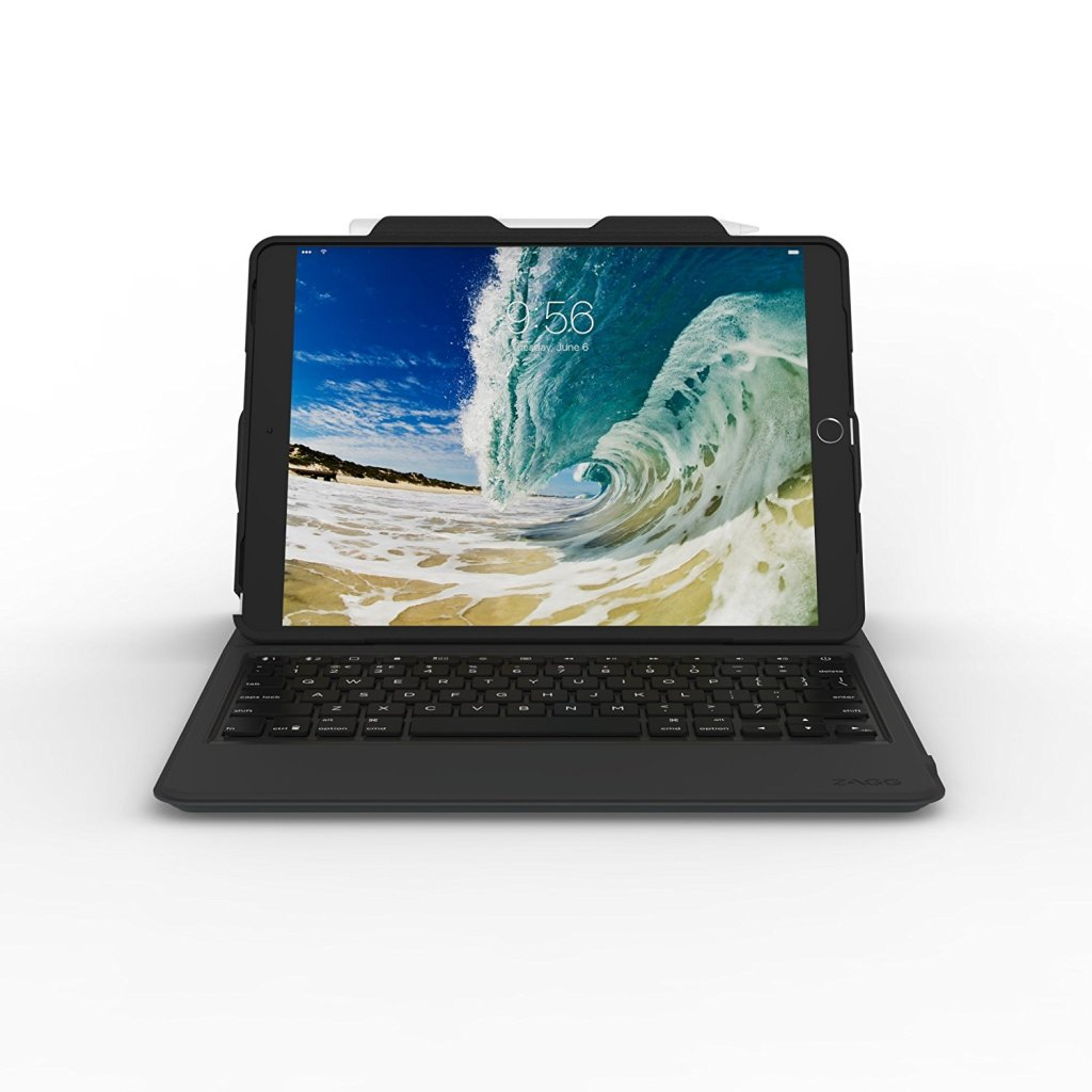 Superior Digital News - ZAGG Apple iPad Pro 10.5 Case & Backlit Keyboard - Display