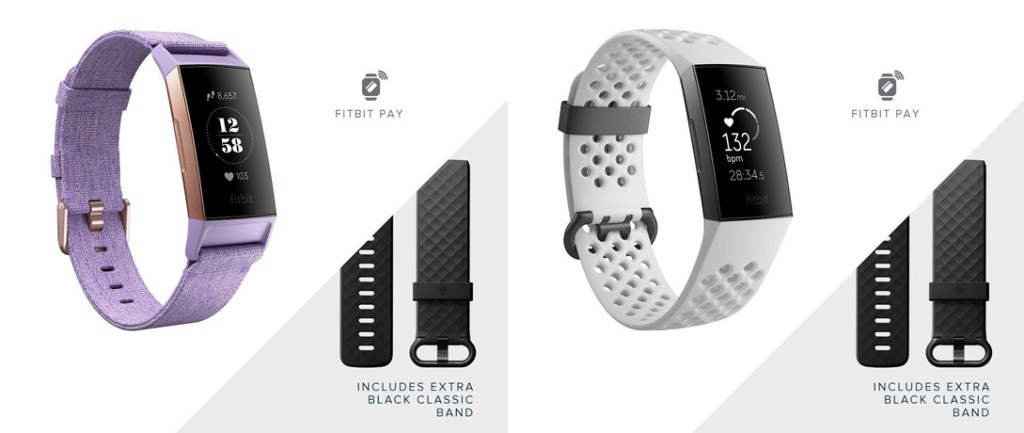 Superior Digital News - Fitbit-Charge-3-Fitness-Tracker---SPECIAL-EDITIONS---Extra-Classic-Black-Fitness-Band