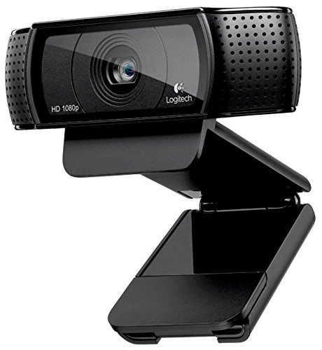 Superior Digital News - Logitech HD Pro Webcam C920 Adjustable Clip, widescreen, calling and recording, 1080P camera, Desktop or Laptop